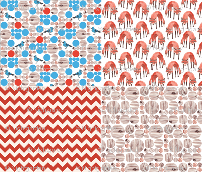 Quick Red Fox Quilter's Assortment 2