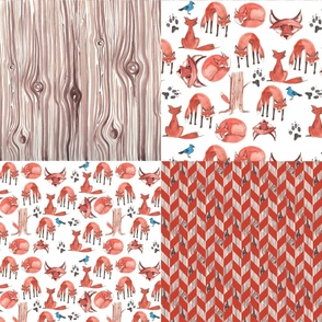 Quick Red Fox Quilter's Assortment 1