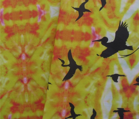 Sunset_background_fabric_for_the_birds