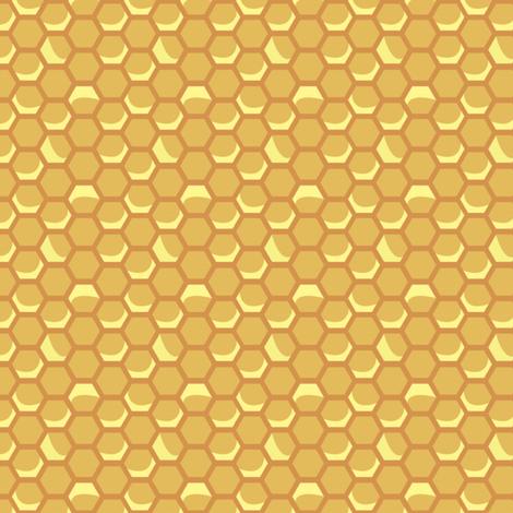 TinyVintageHoneycomb -- Shadow fabric by nightgarden on Spoonflower - custom fabric