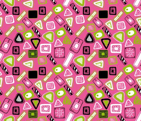 v2 fabric by jlwillustration on Spoonflower - custom fabric