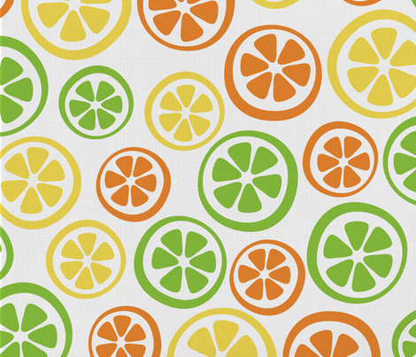 Fruity Fabric fabric by tumbling_turtle on Spoonflower - custom fabric