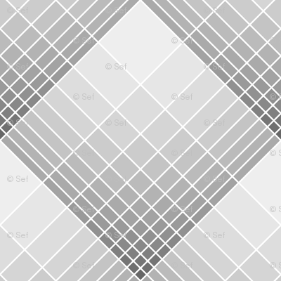 loglog graph X plaid : grey