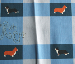 Basic Corgi Plaid - blue