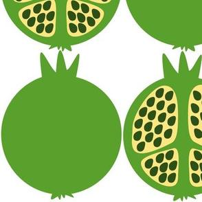 Green Pomegranates