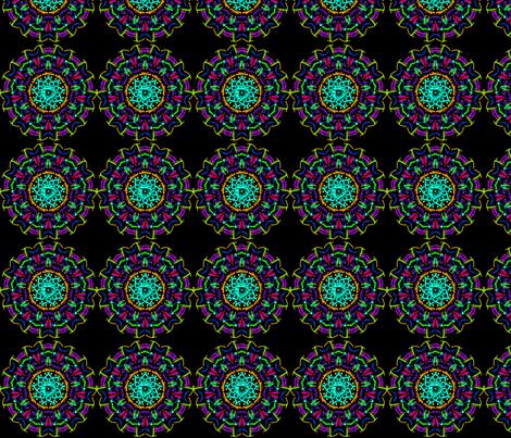 Kaleidoscope_1 fabric by mammajamma on Spoonflower - custom fabric