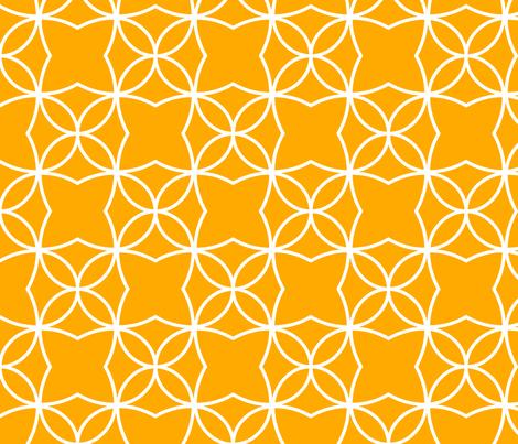 Otava (Orange) fabric by pattern_bakery on Spoonflower - custom fabric