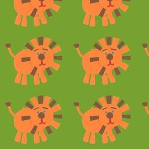 Retro Lions green