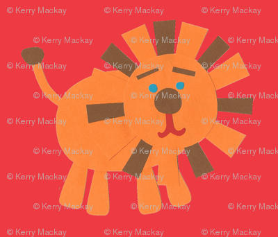 Retro Lions red