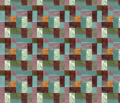 polymer clay  tile,  fabric by koalalady on Spoonflower - custom fabric