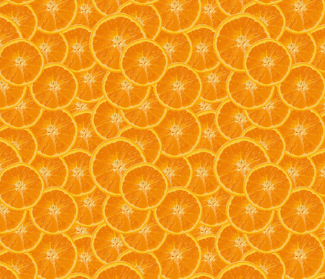 orange fabric by kociara on Spoonflower - custom fabric