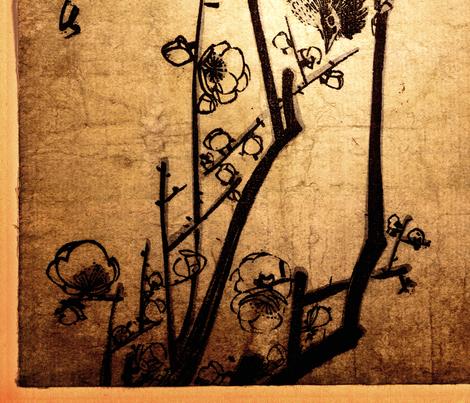 Finch fabric by feebeedee on Spoonflower - custom fabric
