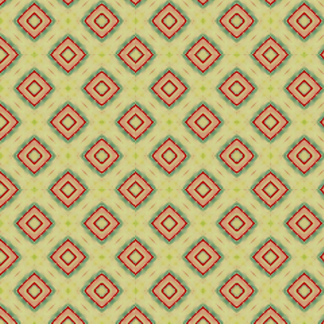 Roy Rogers Diamonds fabric by flyingfish on Spoonflower - custom fabric