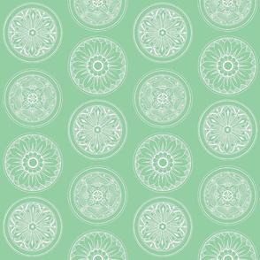 Medallions Mint Green