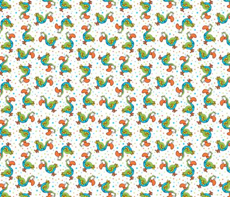 Dodo Bird fabric by holladaydesigns on Spoonflower - custom fabric
