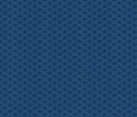 Incense Indigo fabric by flyingfish on Spoonflower - custom fabric