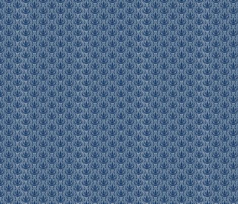 Incense Indigo white detail fabric by flyingfish on Spoonflower - custom fabric