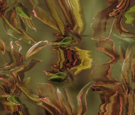 Acalypha - 1 fabric by heytangerine on Spoonflower - custom fabric