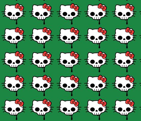hello_kitty fabric by geekinspirations on Spoonflower - custom fabric