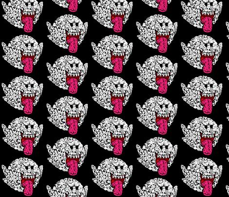 boo fabric by geekinspirations on Spoonflower - custom fabric