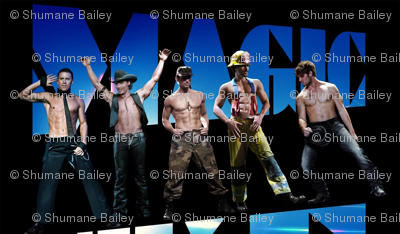 magic mike, all of the boys