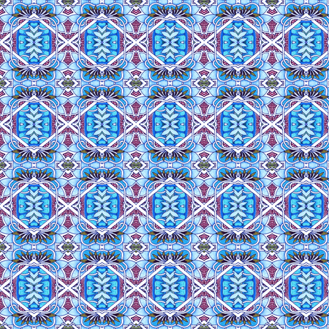 Petit Fours and Fives and Sixes fabric by edsel2084 on Spoonflower - custom fabric