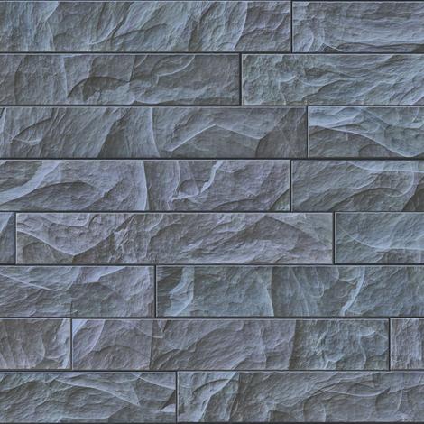 Slate Bricks fabric by animotaxis on Spoonflower - custom fabric