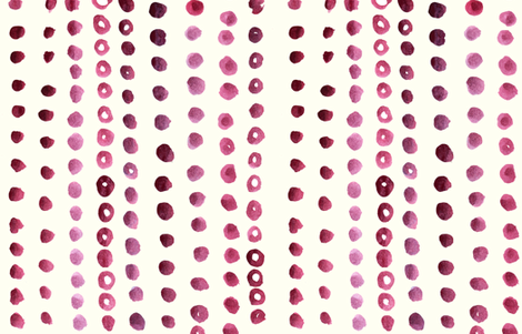 cestlaviv_berry clafoutis fabric by cest_la_viv on Spoonflower - custom fabric