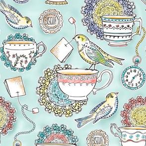 Regular Scale Version - Afternoon Tea