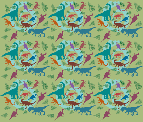 Rapturous after the Ice Age fabric by scifiwritir on Spoonflower - custom fabric