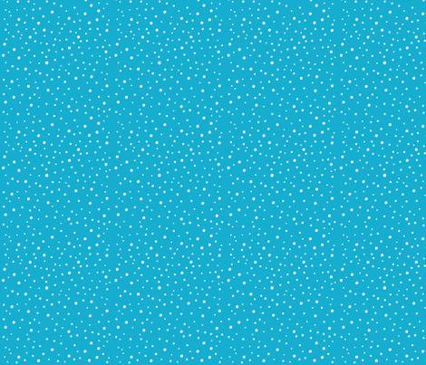 Dodo Bird Polka Dots Blue fabric by holladaydesigns on Spoonflower - custom fabric