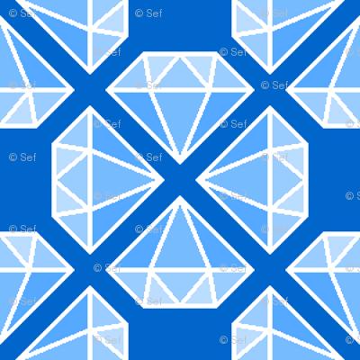 diamante crystals X p4mm