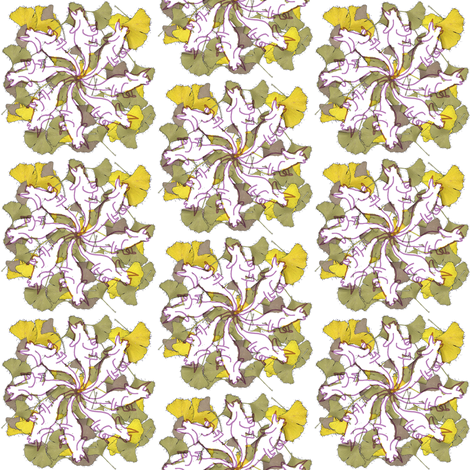 triceretops fabric by moonbeam on Spoonflower - custom fabric