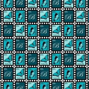 Blue Butterfly Stamps