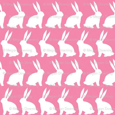 Bunnies on Parade - Pink