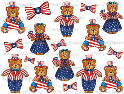 INDEPENDENCE DAY BEARS