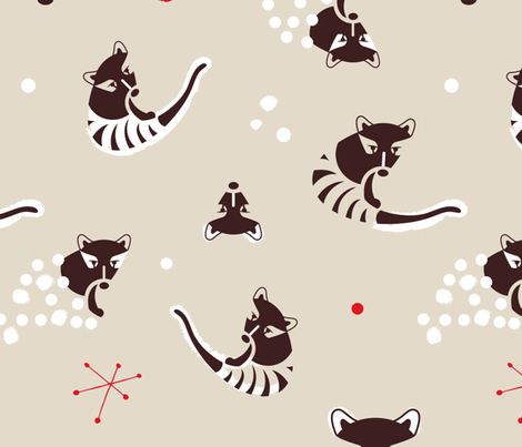 Tasmanian Wolf fabric by happy_to_see on Spoonflower - custom fabric