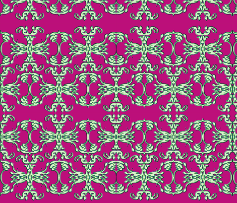 papercut1halfbrick8x10 fabric by reggieo on Spoonflower - custom fabric