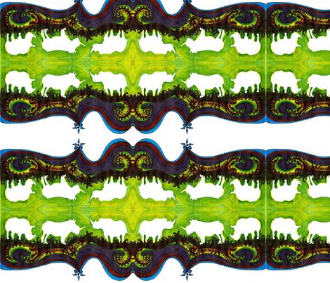 Indian inspired fabric by sapnaprasad on Spoonflower - custom fabric