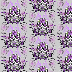 PURPLE PASSION SUGAR SKULLS