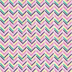 Multi-Colored Herringbone