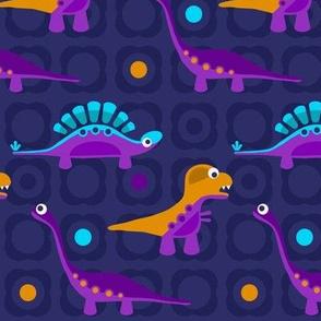 Delightful Dinos - Blue