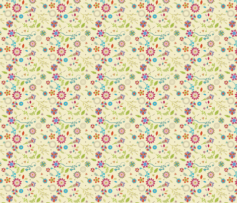 Spoonflower Dream fabric by flyingfish on Spoonflower - custom fabric