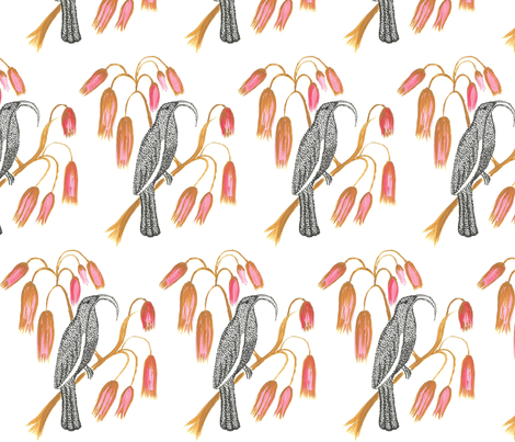Black Mamo fabric by kbexquisites on Spoonflower - custom fabric