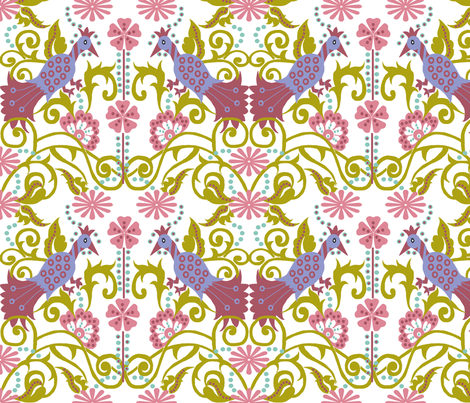 floral_patch fabric by vedanta on Spoonflower - custom fabric