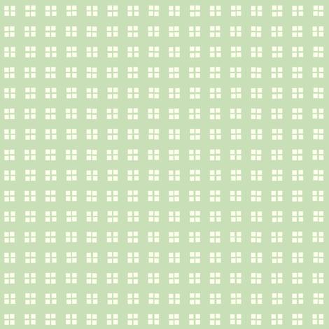 square block print mint fabric by georgeandgracie on Spoonflower - custom fabric