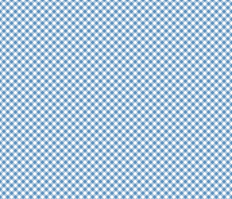 Wizard of Oz - Blue Gingham by JoyfulRose fabric by joyfulrose on Spoonflower - custom fabric