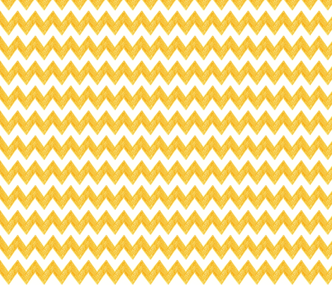 Zig Zag Terrain in Mango fabric by kbexquisites on Spoonflower - custom fabric