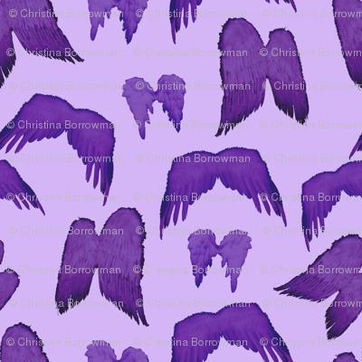 Wizard of Oz - Purple Flying Monkey Wings