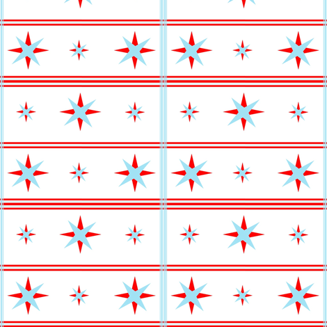 A New Red, White, & Blue! fabric by stitching_dvm on Spoonflower - custom fabric